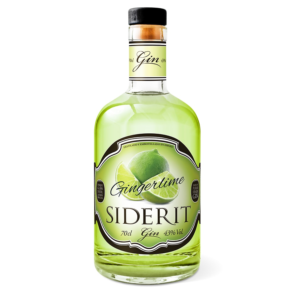 Craft Gin Siderit Gingerlime, 43% Alc., 700ml