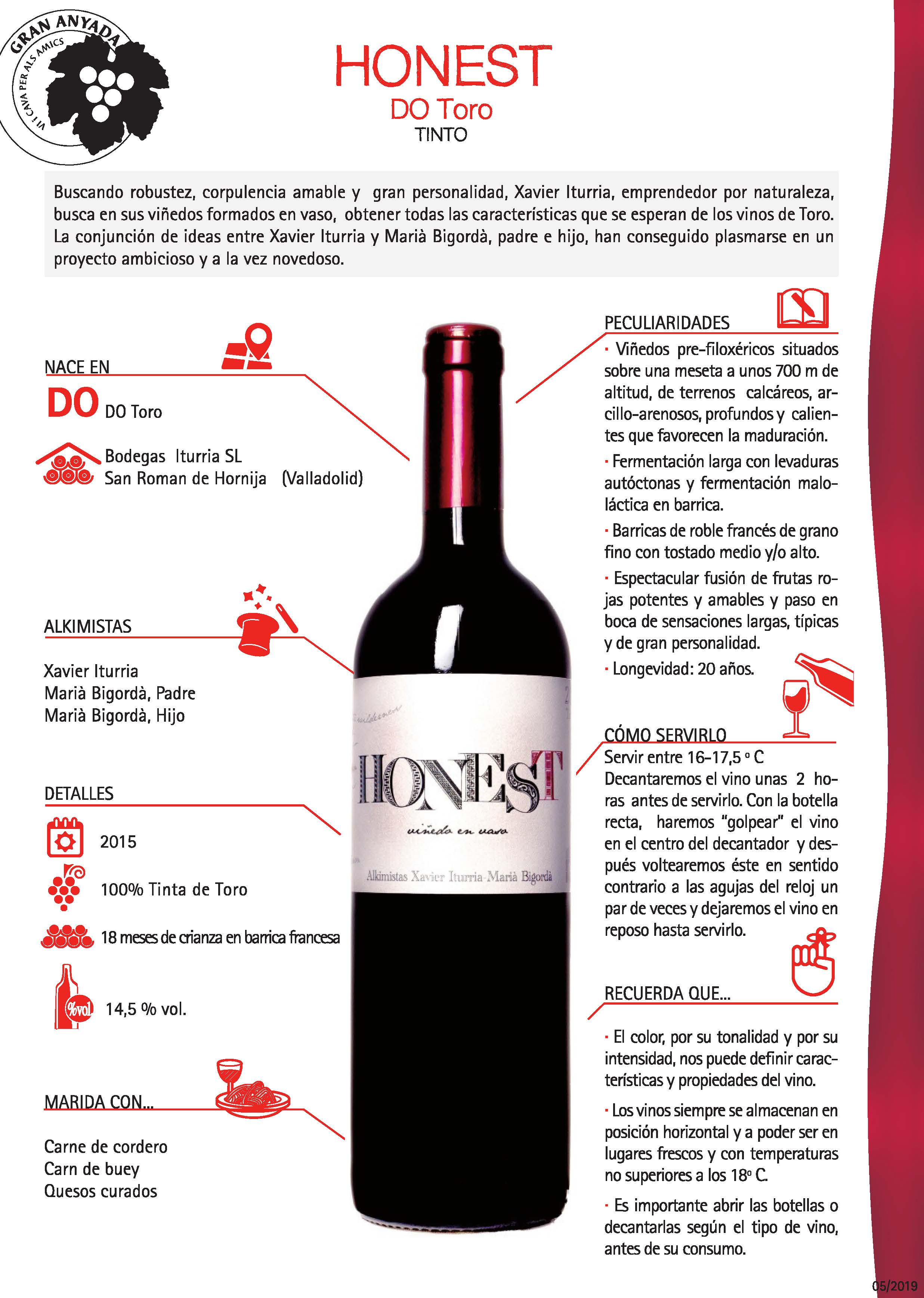 HONEST DO Rioja