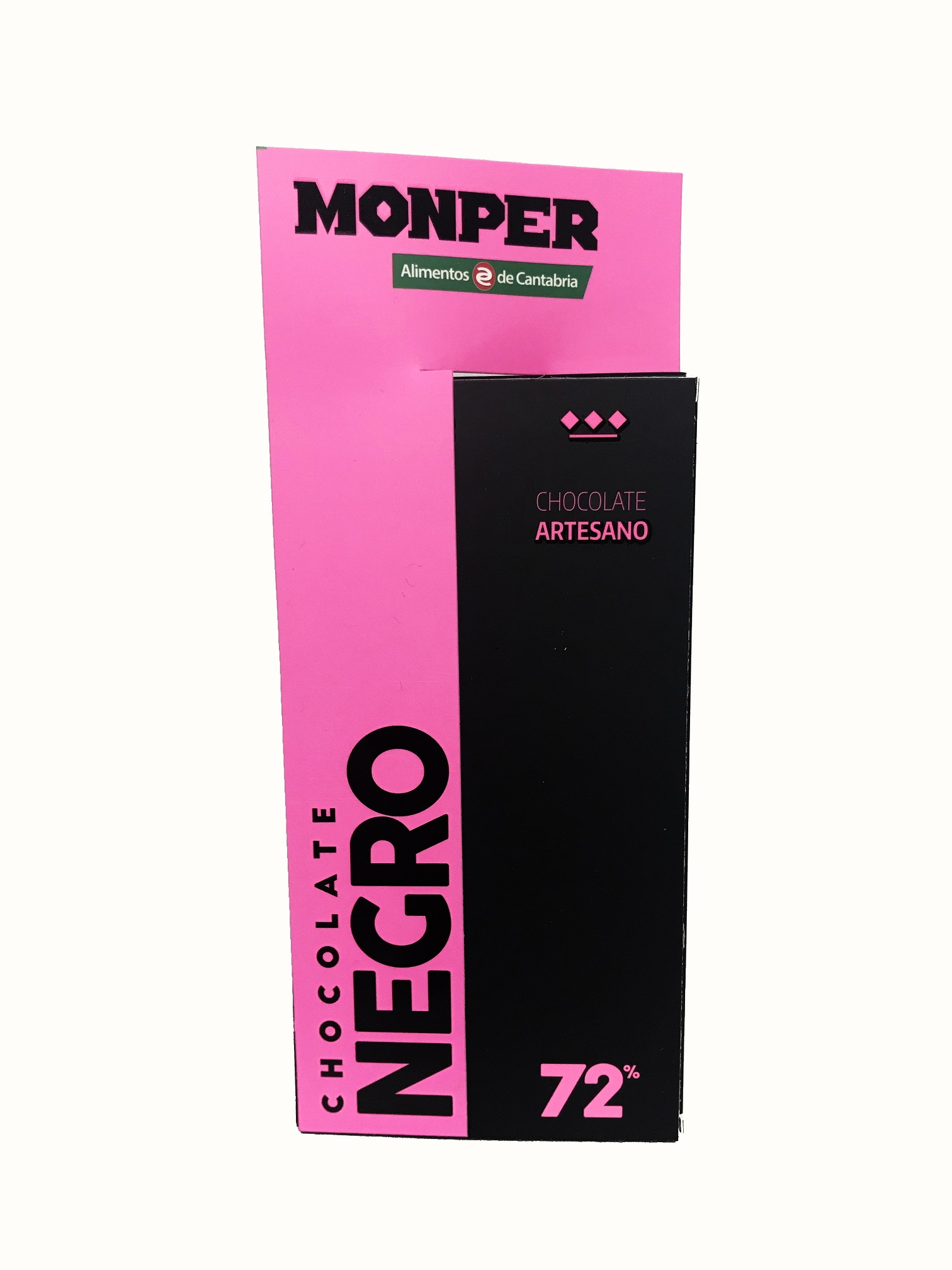 Chocolate Negro 72% Monper Chocolate