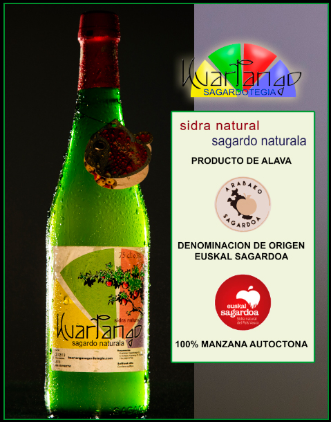 SIDRA NATURAL KUARTANGO SAGARDO NATURALA